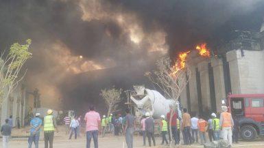 حريق فندق الماسة