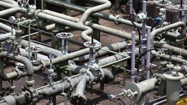 أنابيب الغاز
