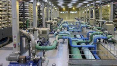 محطة تحيلة مياه - ارشيفية