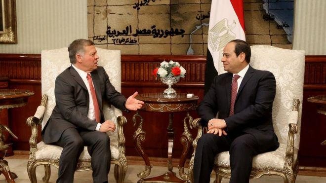 مصر والاردن