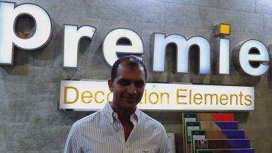 شريف عبد الحليم رئيس مجلس إدارة شركة بريمير لخدمات الديكور