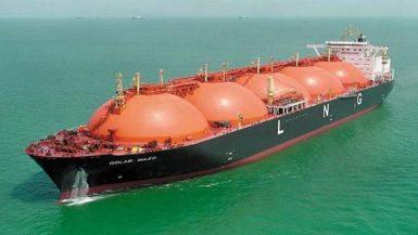 سفن الغاز الطبيعي المسال
