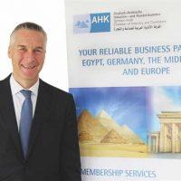 يان نوتر رئيس الغرفة الألمانية العربية للصناعة والتجارة