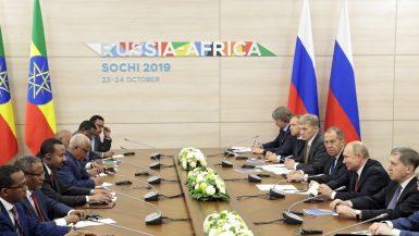 روسيا ؛ أفريقيا ؛ سوتشى
