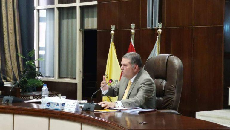هشام توفيق يترأس الجمعية العامة للشركة القابضة للقطن والغزل والنسيج