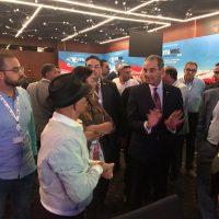المؤتمر الدولي للاتصالات الراديوية ؛ عمرو طلعت وزير الاتصالات
