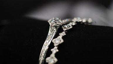 المجوهرات الماسية ؛ الألماس ؛ المجوهرات