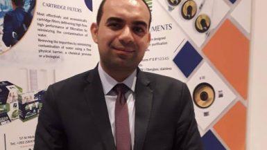 أحمد فتحى رئيس شركة ووتر إكسبرس واتكس