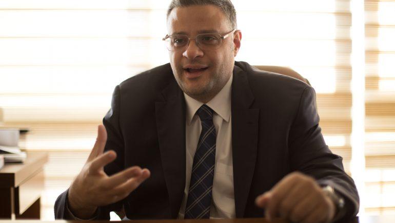 محمود لاشين رئيس مجلس إدارة شركة سبيد ميديكال