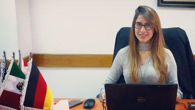 دينا بركات ؛ غرفة التجارة العربية المكسيكية