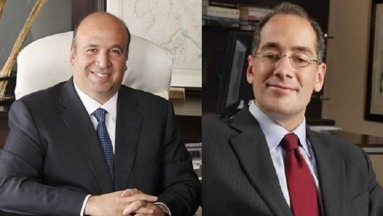 شركة القلعة للاستشارات المالية ؛ أحمد هيكل ؛ هشام الخازندار