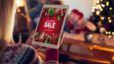 مواقع التجارة الإلكترونية في أعياد الكريسماس