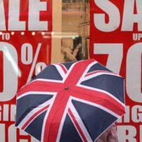 مبيعات التجزئة في المملكة المتحدة ؛ بريطانيا