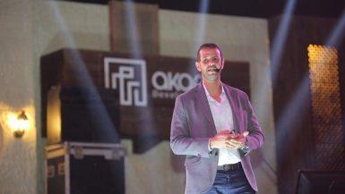 محمد عامر مدير المبيعات بشركة آكام للتطوير العقارى