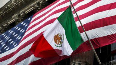 الحدود الأمريكية المكسيكية ؛ أمريكا ؛ المكسيك