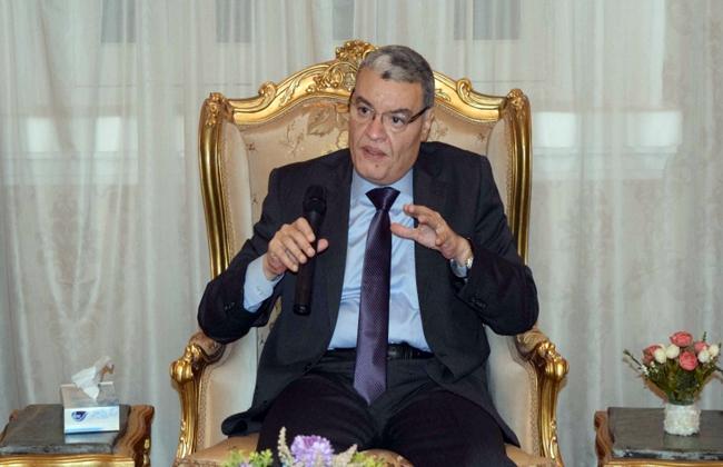 أسامة القاضي محافظ المنيا