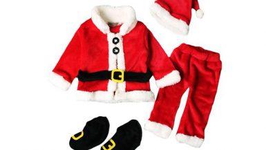 ملابس بابا نويل للأطفال