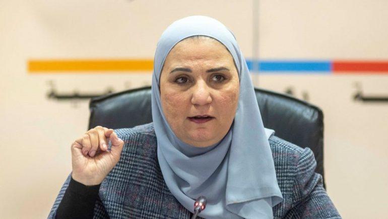 نيفين قباج ؛ نيفين القباج وزيرة التضامن الاجتماعى