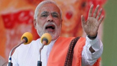 رئيس الوزراء الهندى ناريندرا مودى