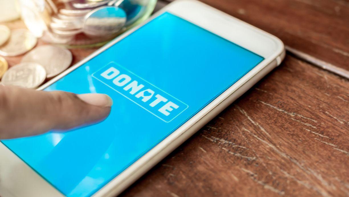 تطبيق التبرعات الخيرية