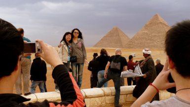 السياحة الصينية في مصر