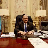 هشام عبد الواحد رئيس لجنة النقل والمواصلات بمجلس النواب