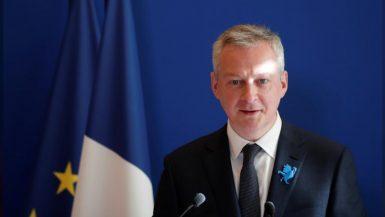 وزير المالية الفرنسى برونو لو ماير