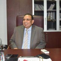 عاطف عبد المنعم رئيس شعبة الأدوات والمعدت الكهربائية بغرفة الصناعات الهندسية باتحاد الصناعات