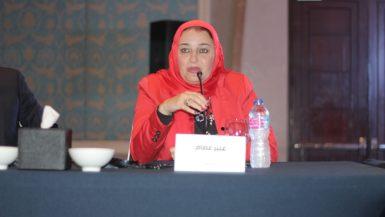 عبير عصام الدين ؛ رئيس مجلس إدارة شركة عمار العقارية