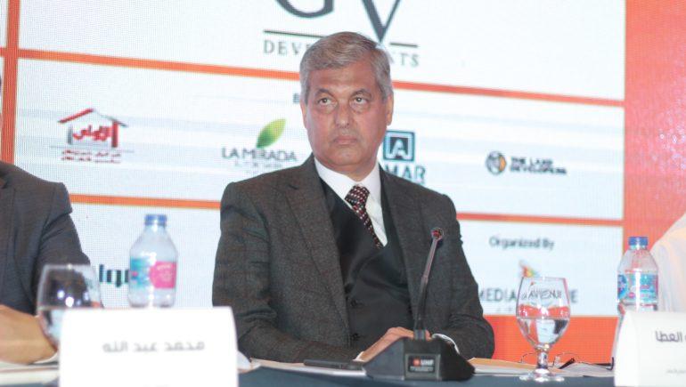 هشام أبوالعطا رئيس مجلس إدارة الشركة القابضة للتشييد والتعمير
