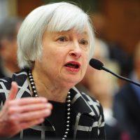 رئيسة البنك الاحتياطى الفيدرالى السابقة جانيت يلي