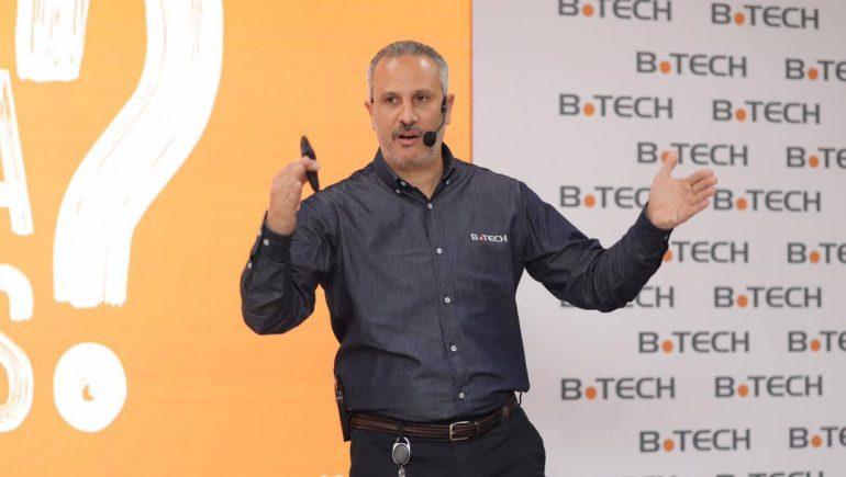 محمود خطاب رئيس شركة بى تك