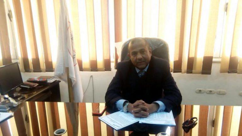 عمرو أبوالعيون رئيس الغرفة التجارية بأسيوط