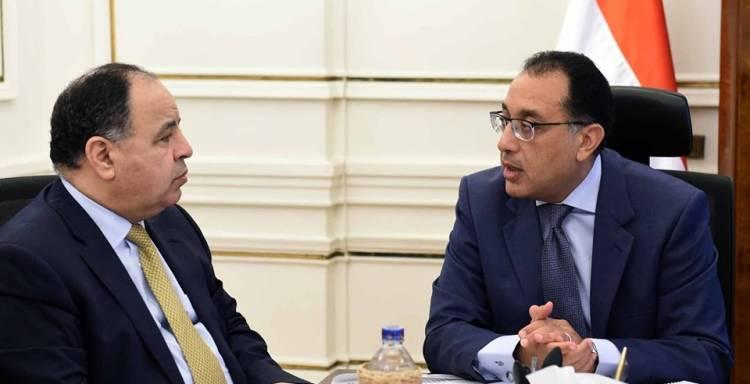 مصطفى مدبولى و محمد معيط