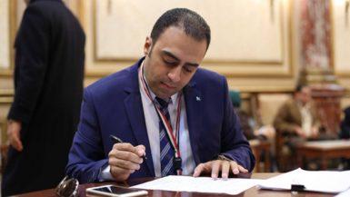 محمد خليفة عضو مجلس النواب عن مدينة المحلة الكبرى