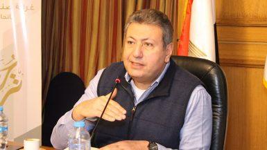 طارق شكرى رئيس غرفة التطوير العقارى و رئيس مجموعة عربية القابضة