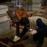 المسجد الأقصى ؛ فيروس كورونا