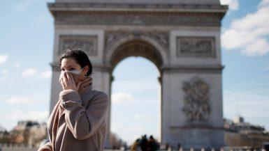 فرنسا ؛ الحجر الصحى ؛ فيروس كورونا