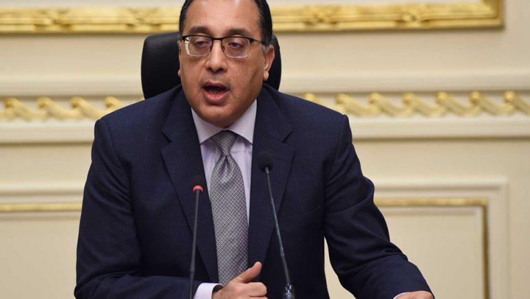 مصطفى مدبولى رئيس مجلس الوزراء ؛ رئيس الوزراء ؛ مصطفى مدبولي