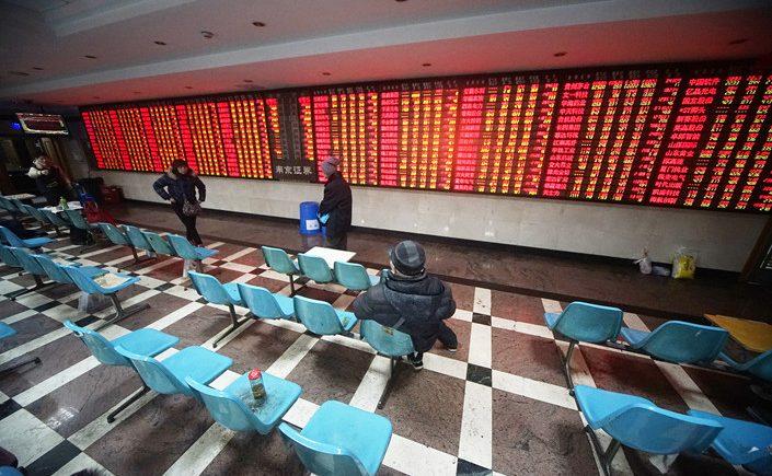 بورصة شنغهاي ؛ الصين ؛ سوق الأسهم الصينية ؛ الاقتصاد الصينى