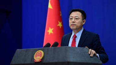 تشاو لي جيان المتحدث باسم وزارة الخارجية الصينية