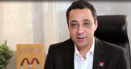 علاء فتحي مدير مان فودز مصر المالكة لماكدونالدز مصر