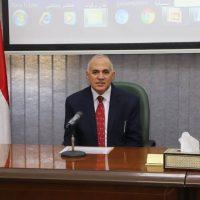 محمد عبد العاطى وزير الموارد المائية والرى