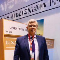 جمال عريف رئيس مجلس إدارة شركة الصعيد لصناعة المركزات جاردينو