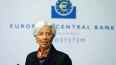 كريستين لاجارد رئيسة البنك المركزي الأوروبي