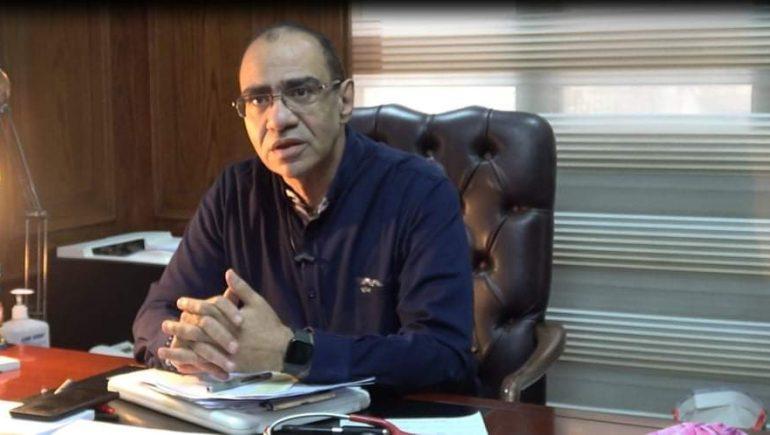 رئيس اللجنة العلمية لمكافحة فيروس كورونا الدكتور حسام حسنى