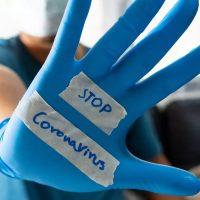 المستلزمات الطبية ؛ القفازات الطبية ؛ فيروس كورونا