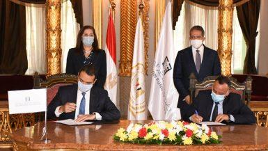 """""""مصر السيادى"""" يوقع عقد تطوير منطقة """"باب العزب"""" مع """"الأعلى للآثار"""""""