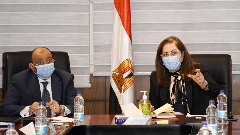 جانب من اجتماع وزراء التخطيط والتنمية المحلية والتعاون الدولى