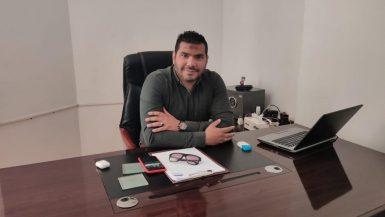 """محمود ناجى رئيس مجلس إدارة شركة """"إم إس جى"""""""